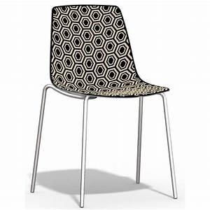 Chaise design cuisine chaises de bar fly 2 chaises hautes for Deco cuisine avec chaise design cuisine