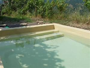 Peinture Pour Piscine : couleur d 39 eau de la piscine en fonction de la peinture ~ Nature-et-papiers.com Idées de Décoration