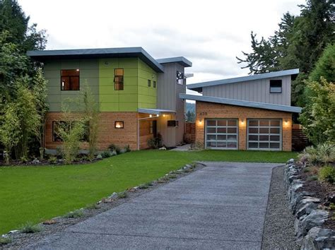 Contemporary Garage Designs by Ph 1 Modern And Green Prefab Home By Place Architects