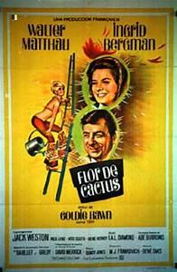 """FLOR DE CACTUS"" MOVIE POSTER - ""CACTUS FLOWER"" MOVIE POSTER"