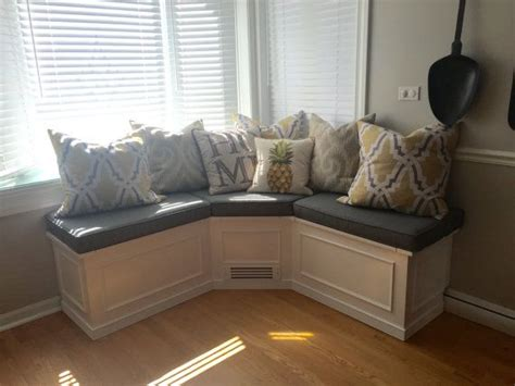Banquette- Corner Bench Seat With Storage