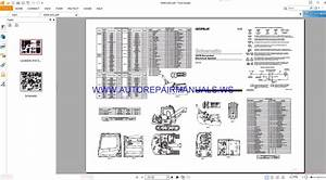 Caterpillar 307b Excavator Electrical Schematics Manuals