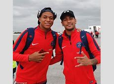 Paris SaintGermain welcome Kylian Mbappe home Daily