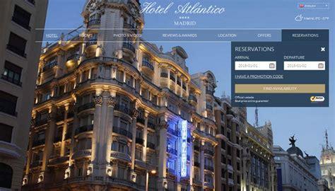 hotel website layouts  design inspiration
