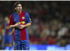 Lionel Messi through the years A look back at the Barca