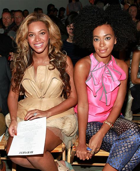 beyonce and solange attend vera wang and rodarte shows in