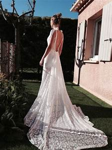robe mariee boheme chic dentelle t36 d39occasion With robe de mariée chic et bohème