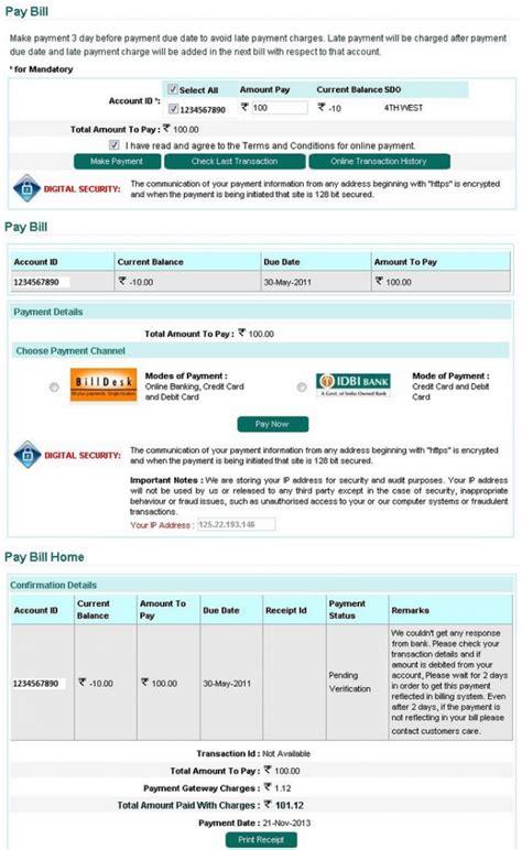 bescom bill payment  wwwbescomorg electricity bill