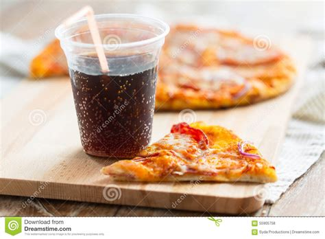 cuisine coca cola cuisine coca cola up of pizza with coca cola on