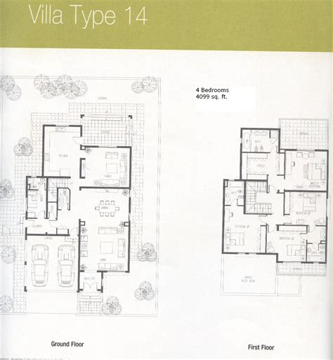 Types Of Floor Plans by Downloads For Meadows Dubai