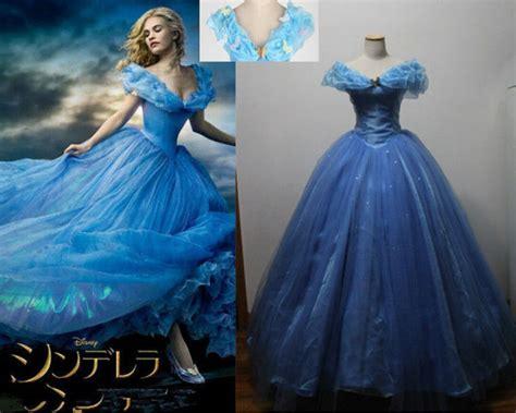 pas cher nouvelle princesse cendrillon femmes bleu robe costume vente acheter