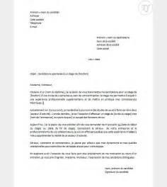 exemple lettre candidature spontan 233 e mod 232 le lettre recrutement jaoloron