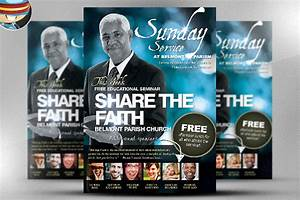 33 church flyers free psd ai vector eps format download for Church flyer psd
