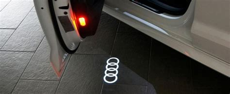 Puddle Lights by Official Led Courtesy Lights With Audi Logo Now Available