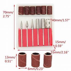 Bohrer Schleifen Maschine : 300 st ck elektrisch nail art schleifer schleifb nder 80 120 180 6 maschine ebay ~ Eleganceandgraceweddings.com Haus und Dekorationen