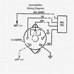 12 Volt Delco Alternator Wiring Diagram Wiring Diagram