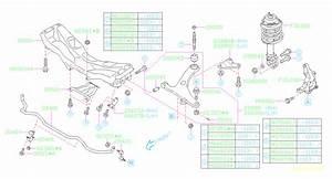 2005 Subaru Sway Bar Diagram
