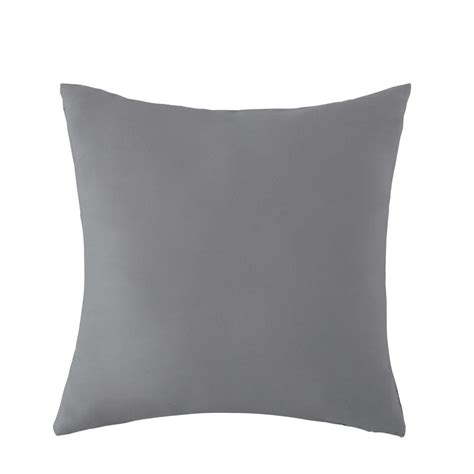 cuscino da esterno cuscino grigio da esterno 50 x 50 cm maisons du monde