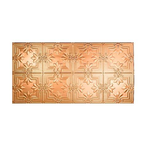 fasade traditional 3 2 ft x 4 ft glue up ceiling tile