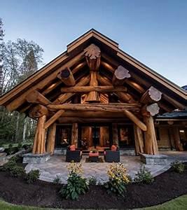 Maison En Rondin : design de maison maison en rondin de bois canada pioneer ~ Melissatoandfro.com Idées de Décoration
