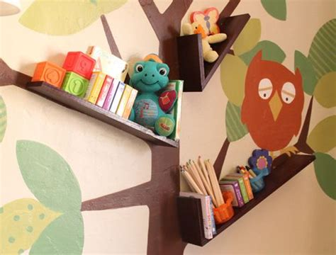 Best Images About Leah's Room-tree Shelf Ideas On
