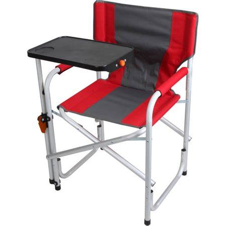Lawn Chair With Table by Portable Folding Aluminum Lawn Patio Director Chair With