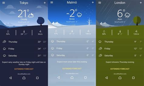 sony weather app ready for exclusive to xperia