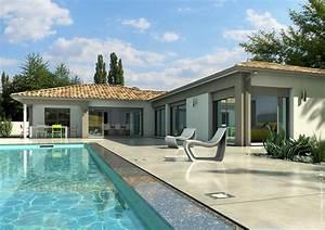 Maison En L Moderne : style pereire toit en tuiles ~ Melissatoandfro.com Idées de Décoration
