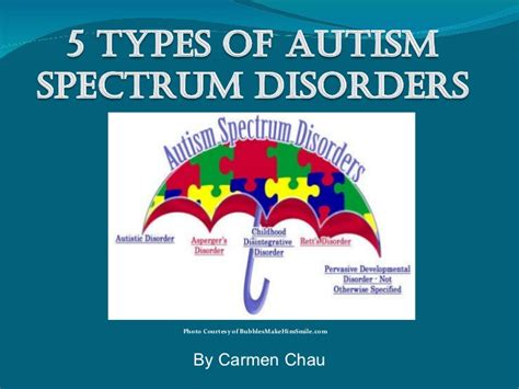 5 Types Of Autism Spectrum Disorders