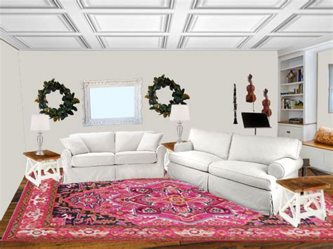 Living Rooms With Rugs : Trying On Area Rugs With Photoshop