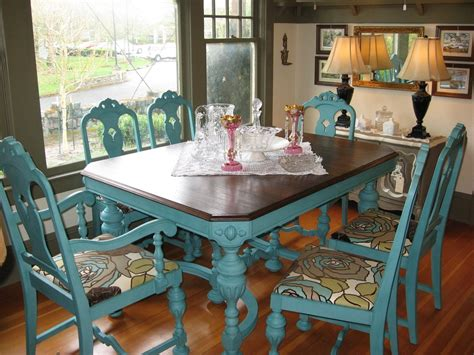 Great Idea To Give An Old Kitchen Table Or Chairs A New