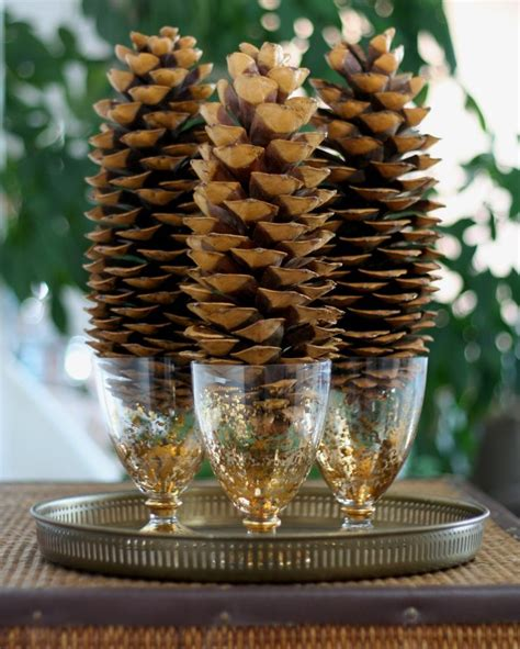 pine cone christmas table decorations oregon holiday products scented and craft pine cones