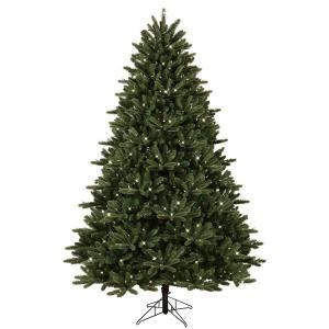 home accents holiday 75 frasier fir ge 7 5 ft pre lit led just cut frasier fir artificial tree with ez light technology