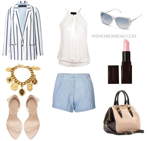 Summer 2013 Style Inspiration What to Wear On a Boat Ride - Fashion Bomb Daily Style Magazine ...