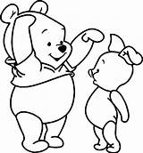 Coloring Pooh Tall Winnie Piglet Awesome Characters Wecoloringpage sketch template