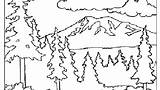 Coloring Pages Mountain Splash Canyon Grand Smoky Printable Getcolorings Mountains Print Getdrawings sketch template