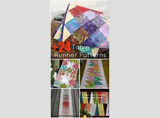 24+ Table Runner Patterns