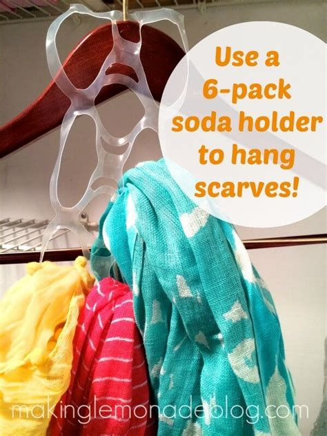 How To Organize Scarves In Your Closet clever cheap or free organization happiness is