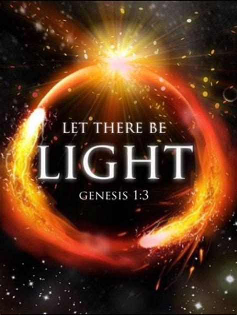 let there be light 17 best images about and god said on pinterest