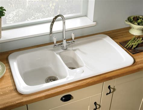 kitchen sink images astracast aquitaine gloss white ceramic inset sink 1 5 bowl 2748
