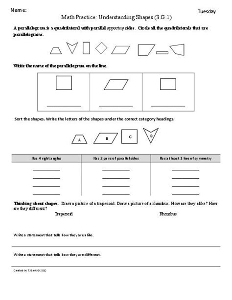 17 best images of grade common math worksheets