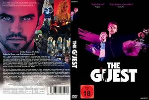 The Guest dvd cover & label (2014) R2 German Custom
