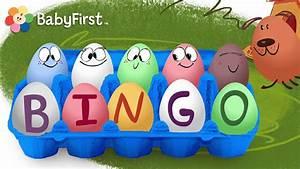 Surprise Eggs Nursery Rhymes   BINGO Song   Cartoons for ...