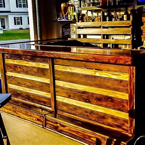 diy pallet full size bar pallet furniture plans