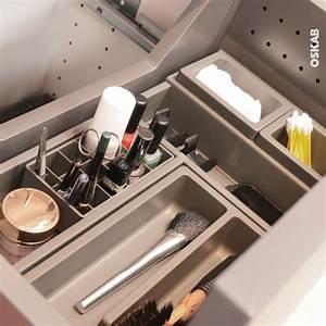 Organisateur Salle De Bain : organisateur de tiroir kit de rangement n 1 l60 x p40 cm hakeo oskab ~ Teatrodelosmanantiales.com Idées de Décoration