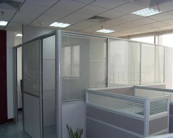 boss office modern  height glass cubicle partition