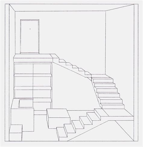 dessin chambre en perspective stunning chambre en perspective lineaire ideas design