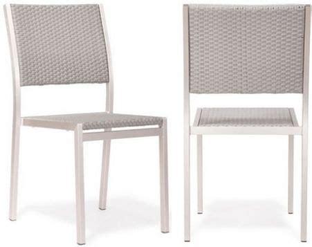 zuo modern 701866 metropolitan dining chair brushed