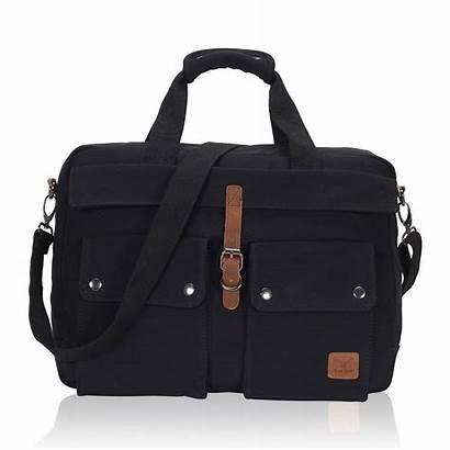 Laptop Bag Canvas Messenger Briefcase