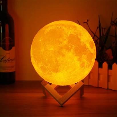 Lamp Moon Magical Luna Night Led Output
